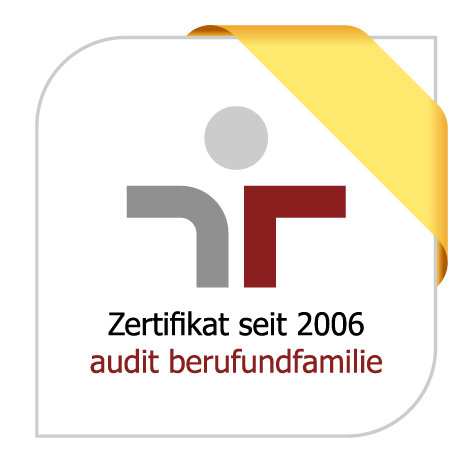 The Max Planck Society has been awarded the certificate for family-friendly policies by the berufundfamilie GmbH for the forth time in a row since 2006.